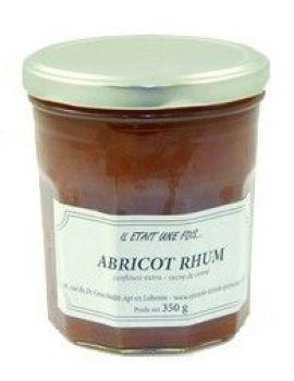 confiture abricot rhum